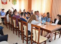 II sesja Młodzieżowej Rady Gminy Wiśniew