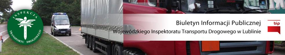 Wojewódzki Inspektorat Transportu Drogowego w Lublinie
