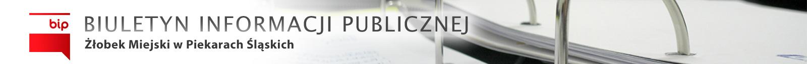 BIP Żłobek Miejski w Piekarach Śląskich