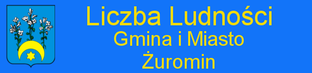 Liczba ludności - Gmina i Miasto Żuromin